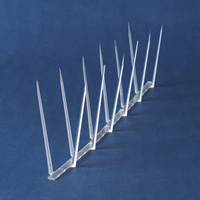 Bird deterrent spikes for sailboats