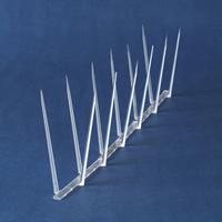 Bird deterrent spikes for sailboats